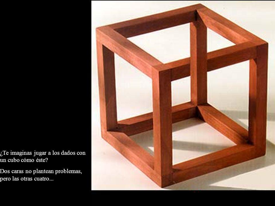 ¿Te imaginas jugar a los dados con un cubo cómo éste