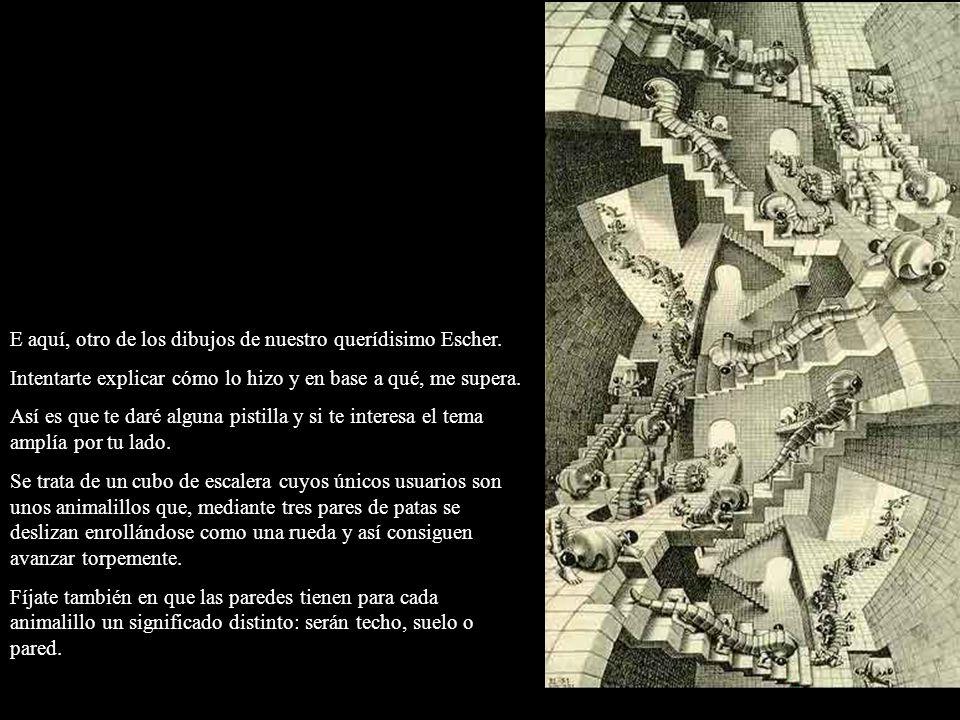 E aquí, otro de los dibujos de nuestro querídisimo Escher.