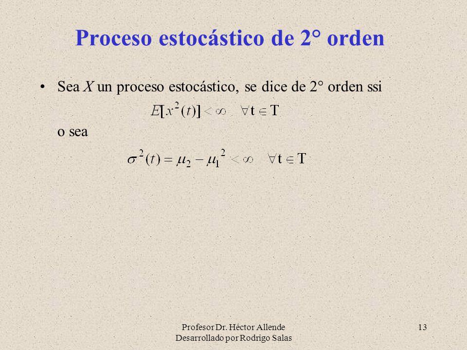 Proceso estocástico de 2° orden