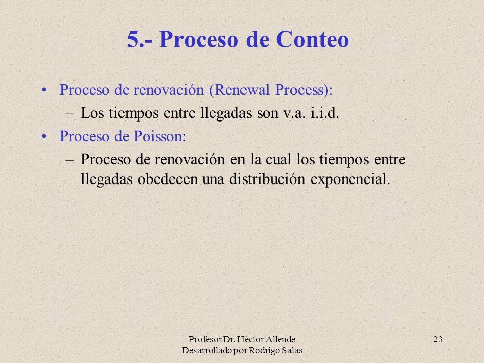 5.- Proceso de Conteo Proceso de renovación (Renewal Process):