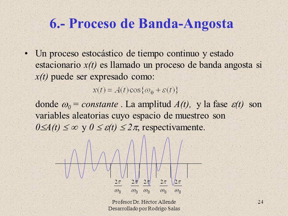 6.- Proceso de Banda-Angosta