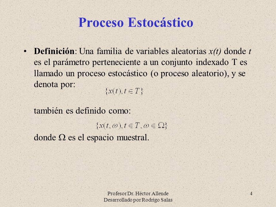 Proceso Estocástico