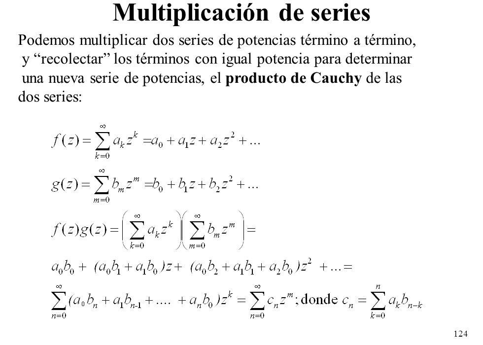 Multiplicación de series