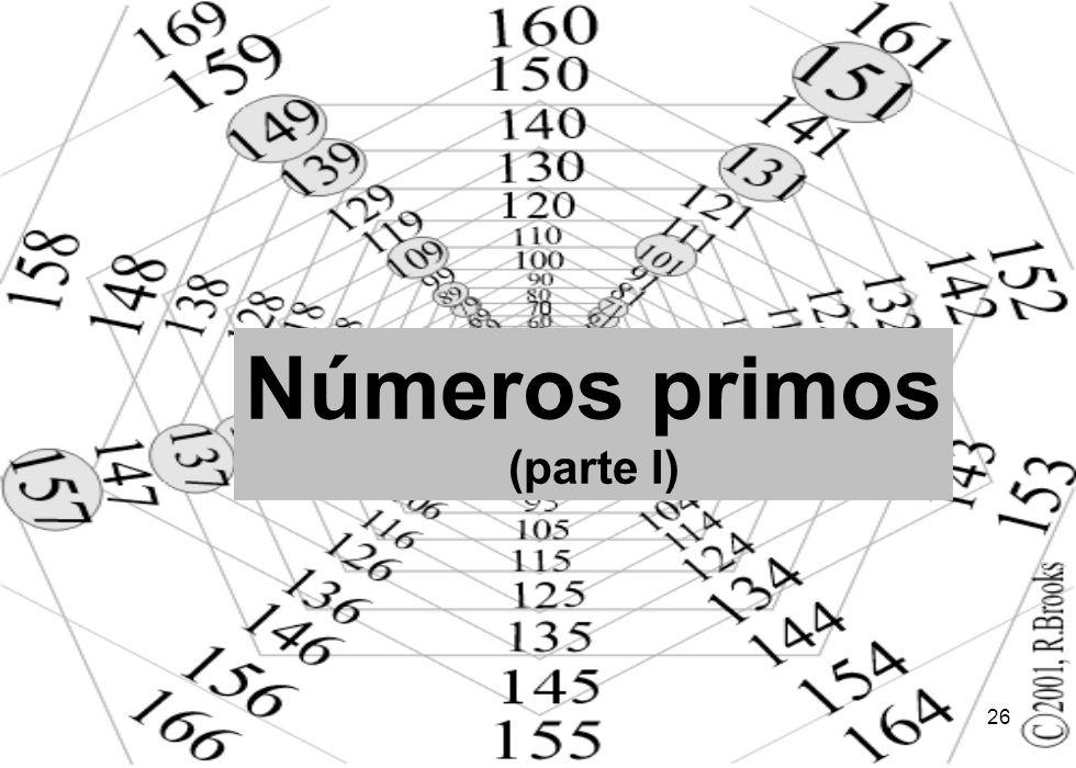 Números primos (parte I)
