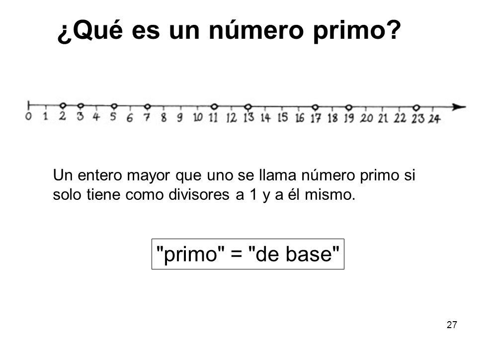 ¿Qué es un número primo primo = de base