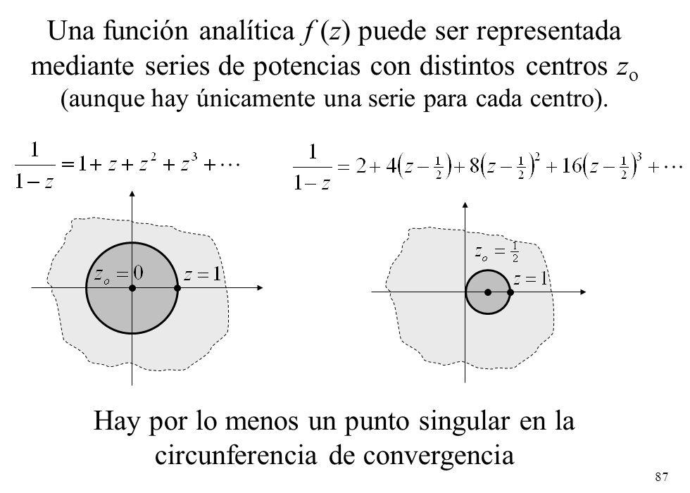 (aunque hay únicamente una serie para cada centro).