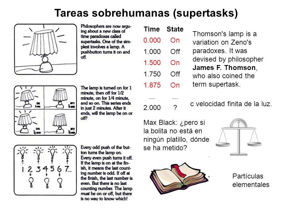 Tareas sobrehumanas (supertasks)