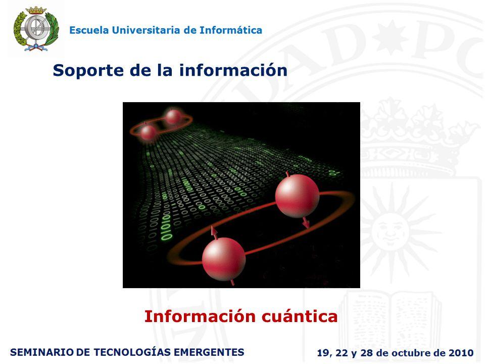 Soporte de la información