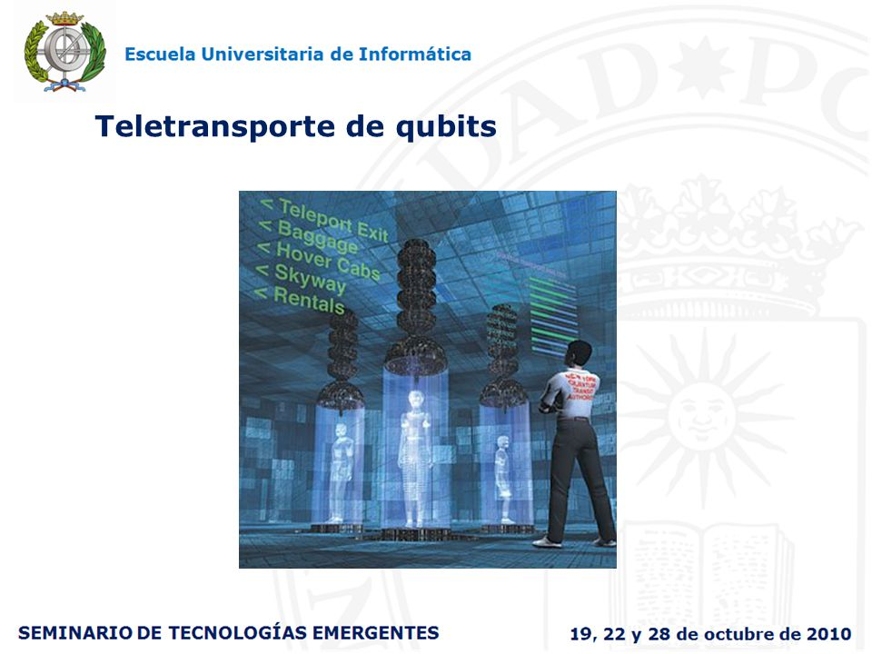 Teletransporte de qubits