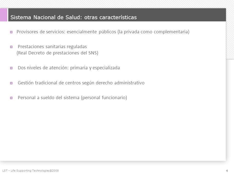 Sistema Nacional de Salud: otras características
