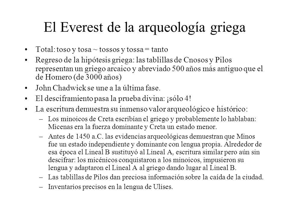 El Everest de la arqueología griega
