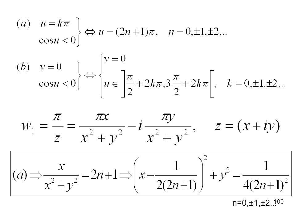 n=0,±1,±2...