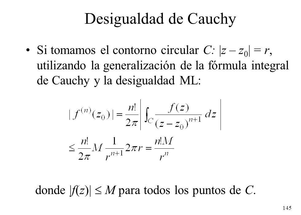 Desigualdad de Cauchy