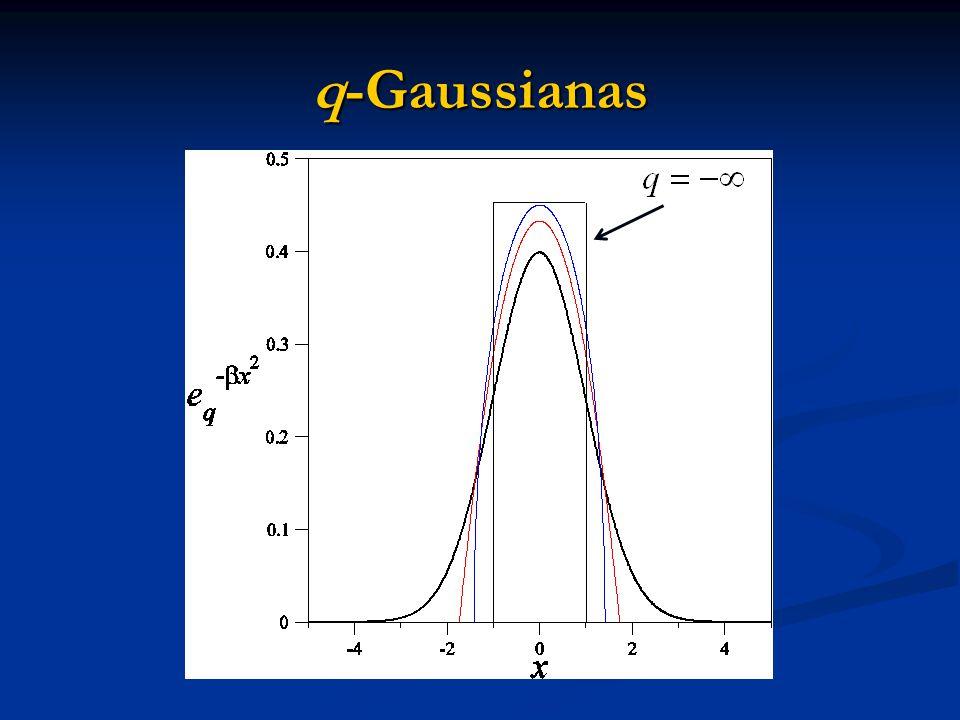 q-Gaussianas