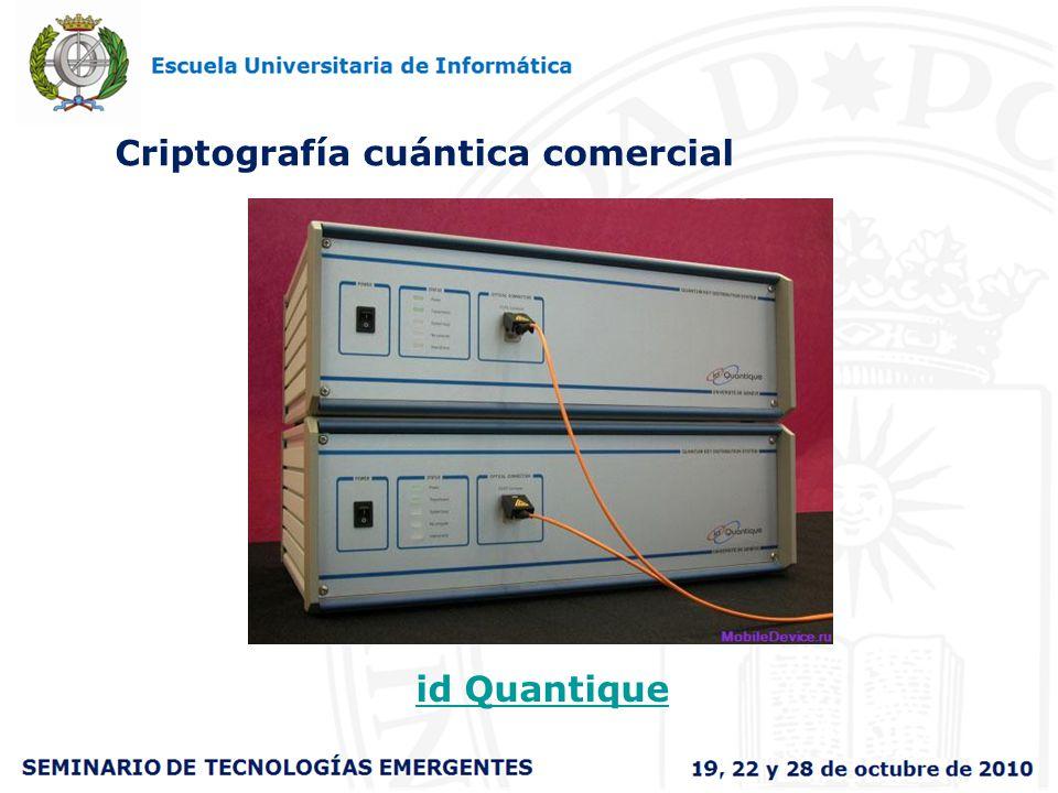 Criptografía cuántica comercial