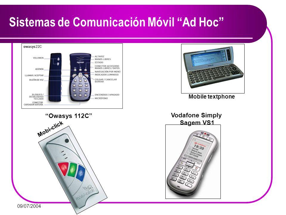 Sistemas de Comunicación Móvil Ad Hoc