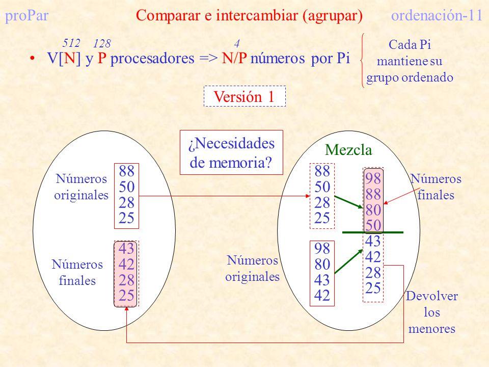 proPar Comparar e intercambiar (agrupar) ordenación-11