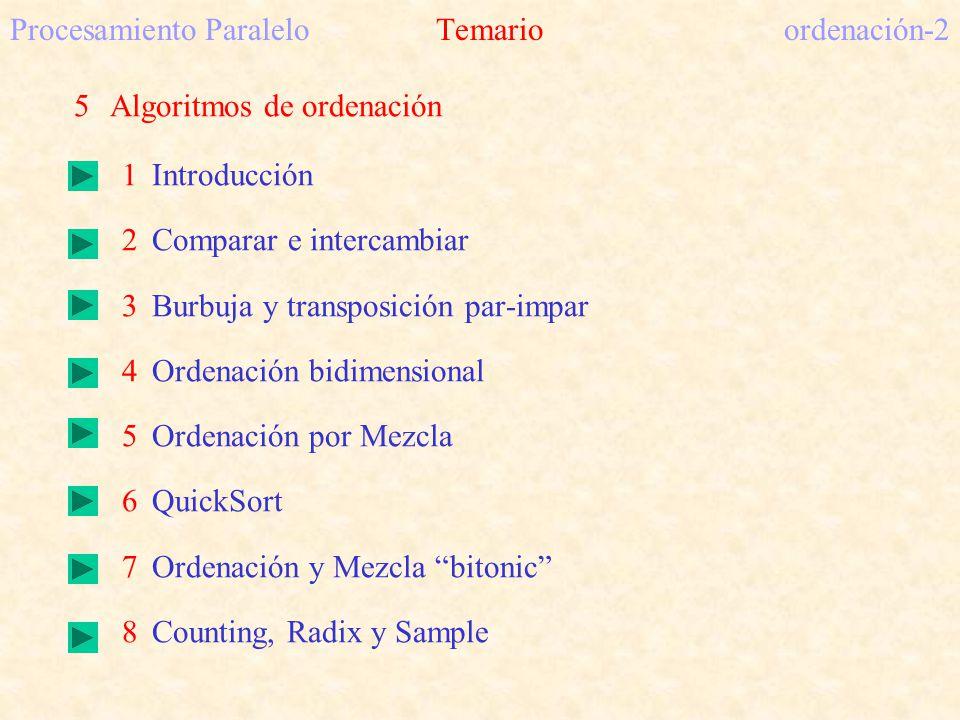 Procesamiento Paralelo Temario ordenación-2