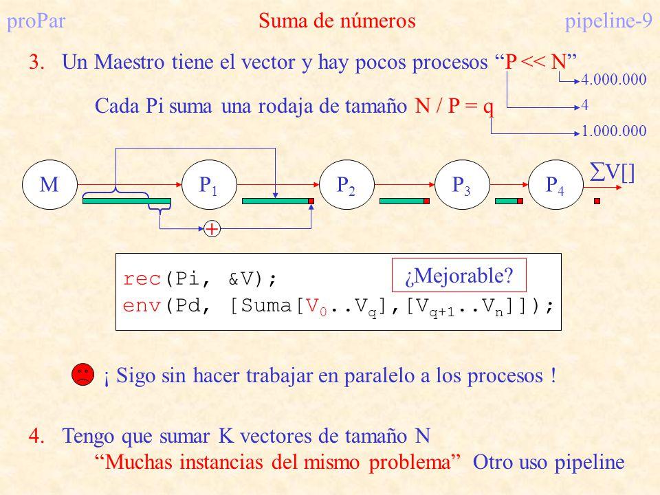 proPar Suma de números pipeline-9