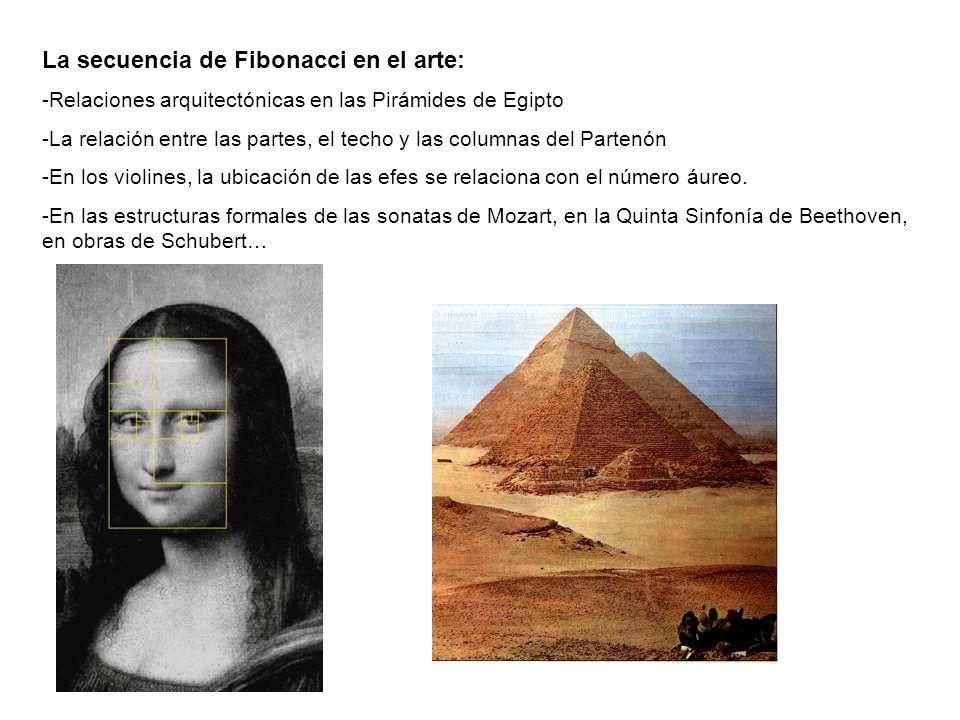 La secuencia de Fibonacci en el arte: