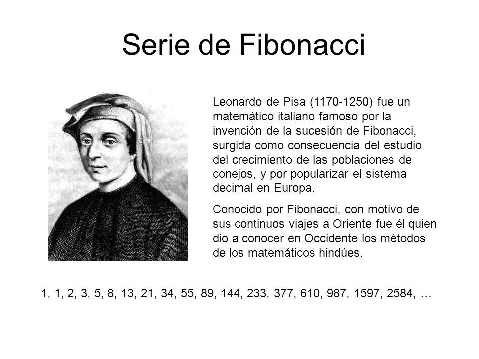 Serie de Fibonacci