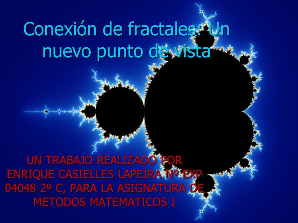 Conexión de fractales: Un nuevo punto de vista