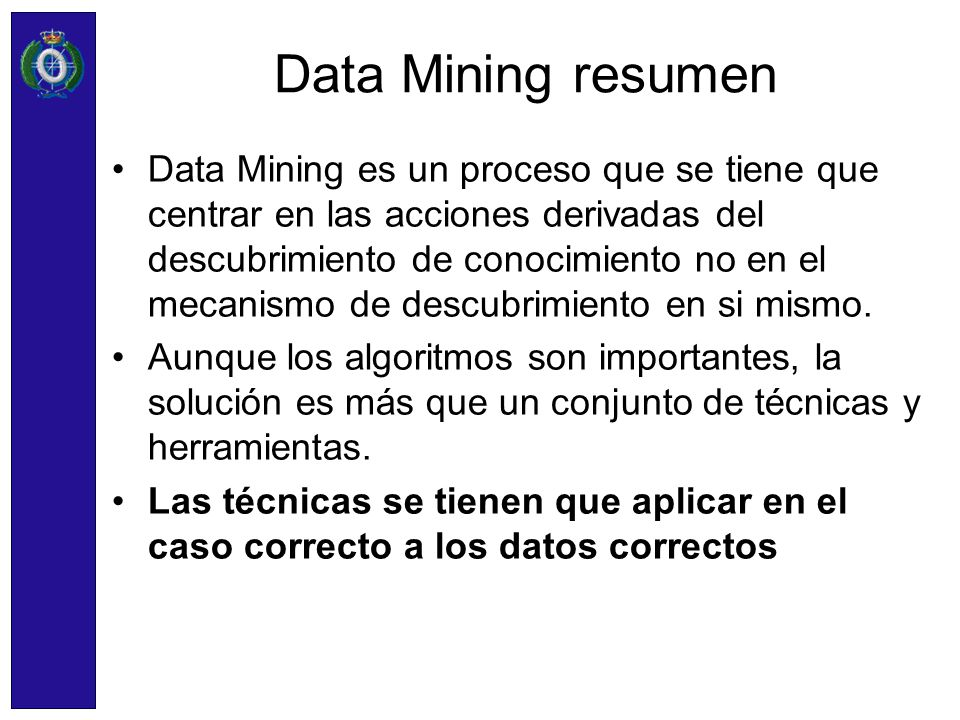 Data Mining resumen