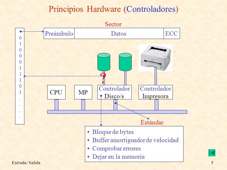 Principios Hardware (Controladores)