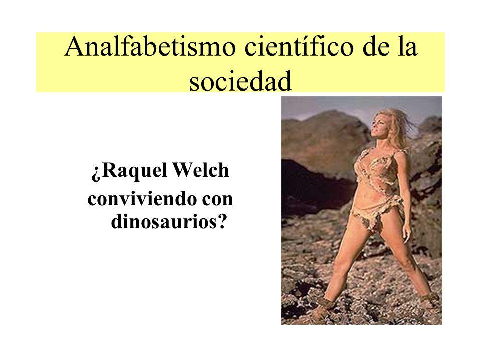 Analfabetismo científico de la sociedad