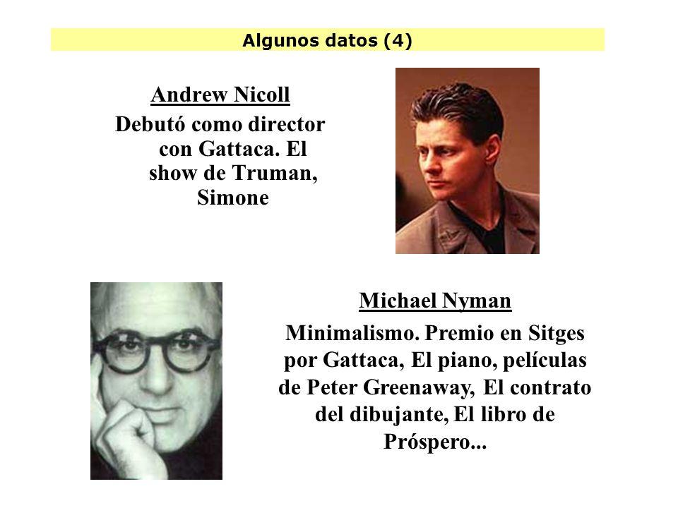 Debutó como director con Gattaca. El show de Truman, Simone
