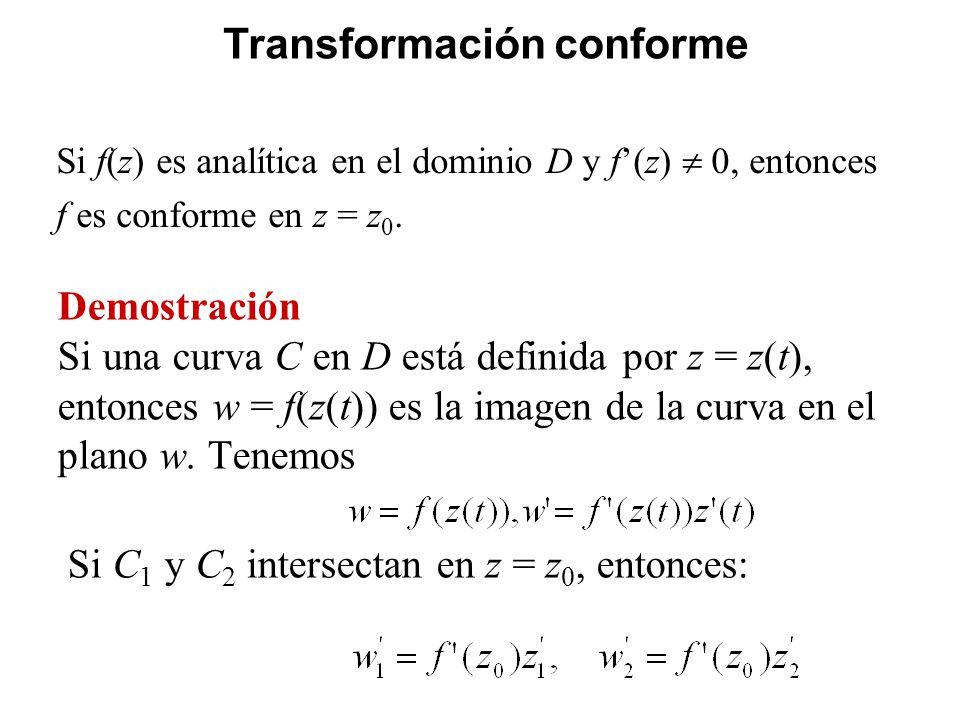 Transformación conforme