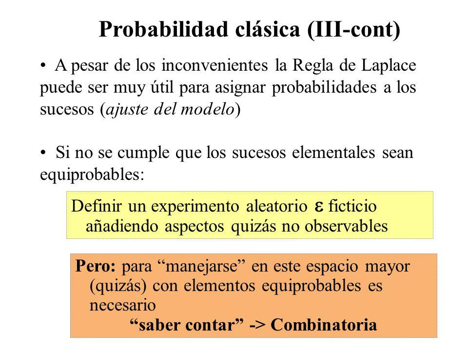 saber contar -> Combinatoria