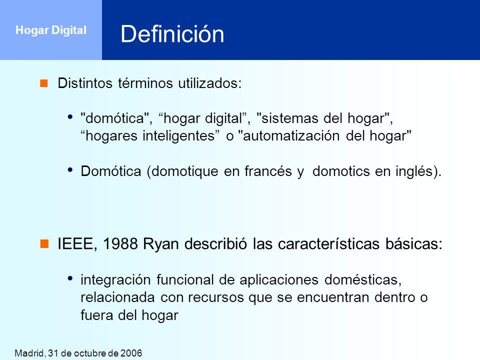 Definición IEEE, 1988 Ryan describió las características básicas:
