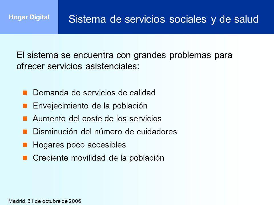 Sistema de servicios sociales y de salud