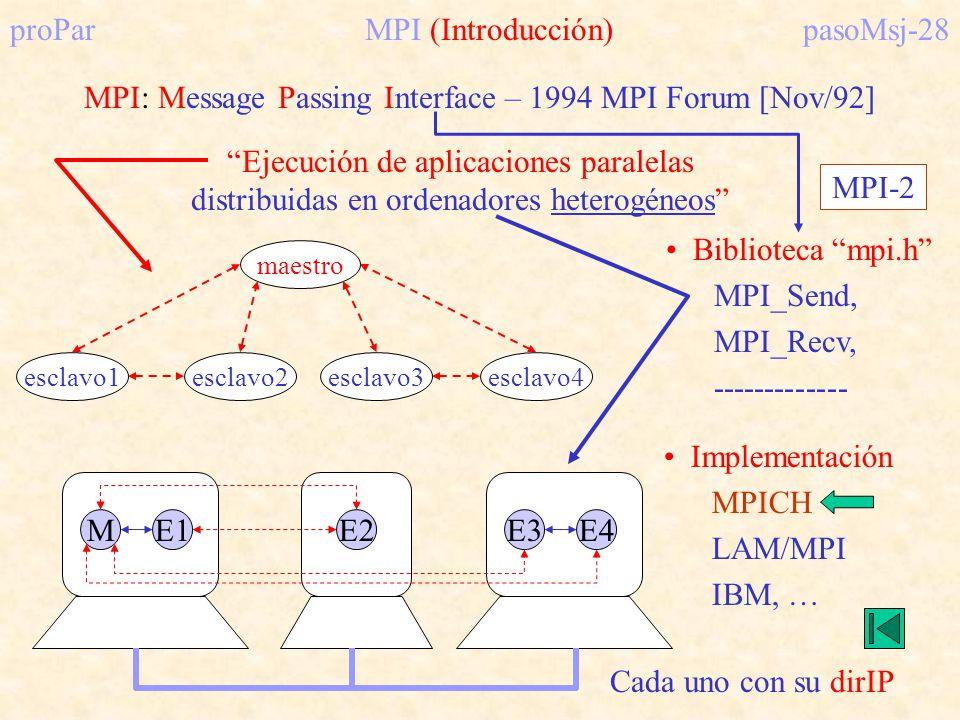 proPar MPI (Introducción) pasoMsj-28