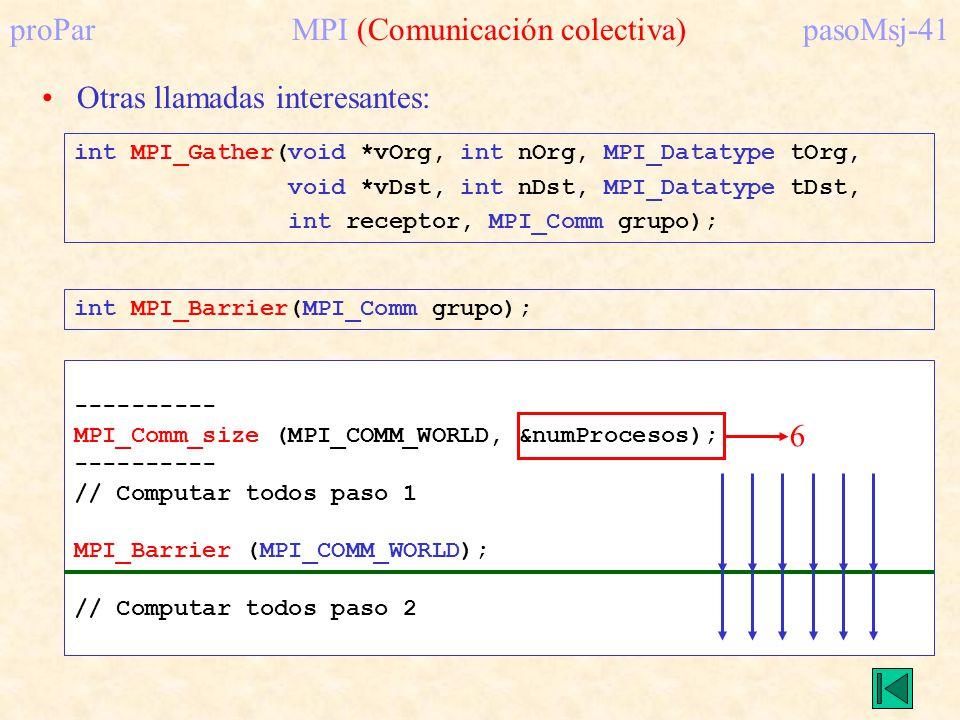 proPar MPI (Comunicación colectiva) pasoMsj-41