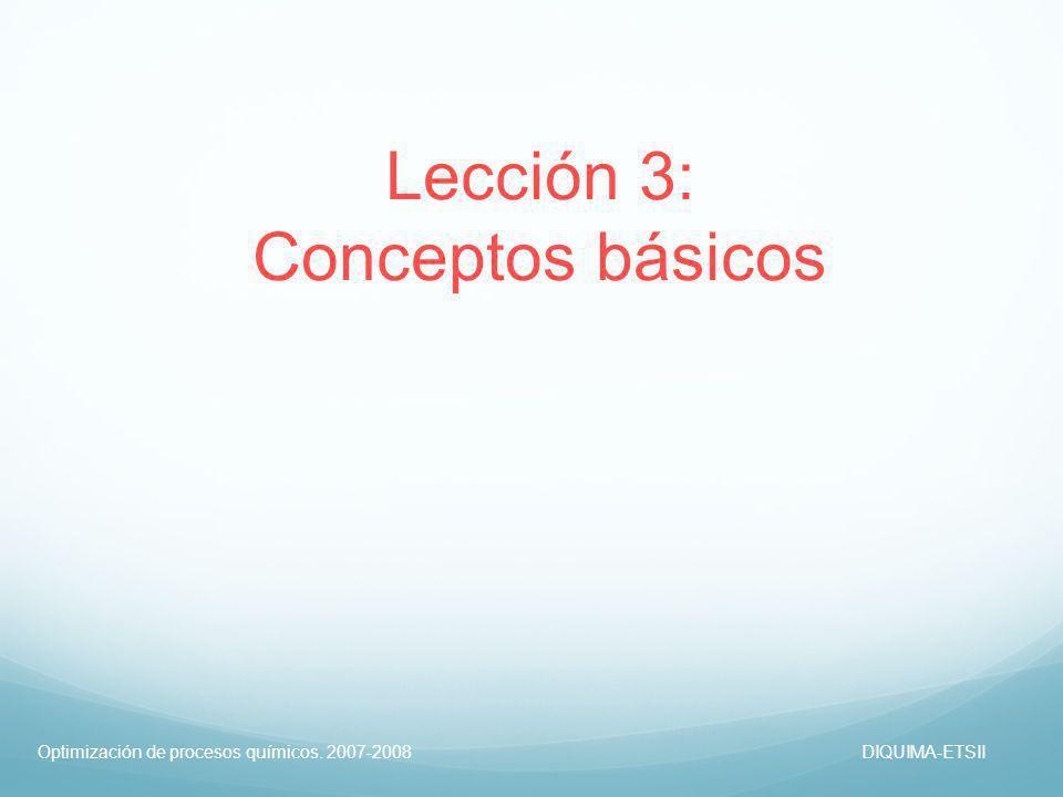 Lección 3: Conceptos básicos