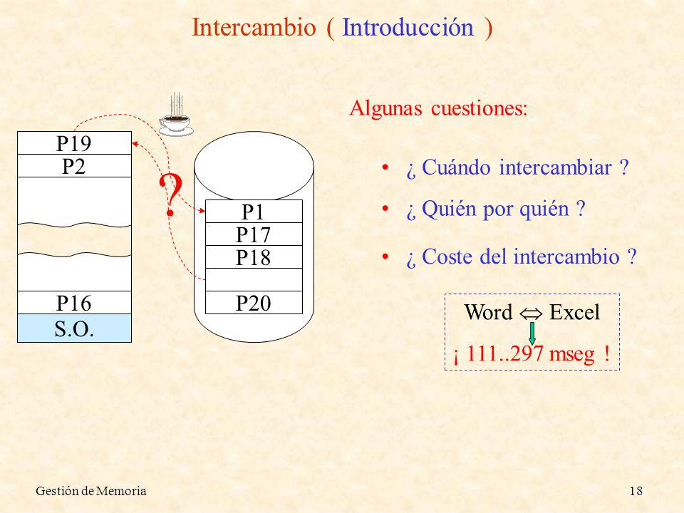Intercambio ( Introducción )