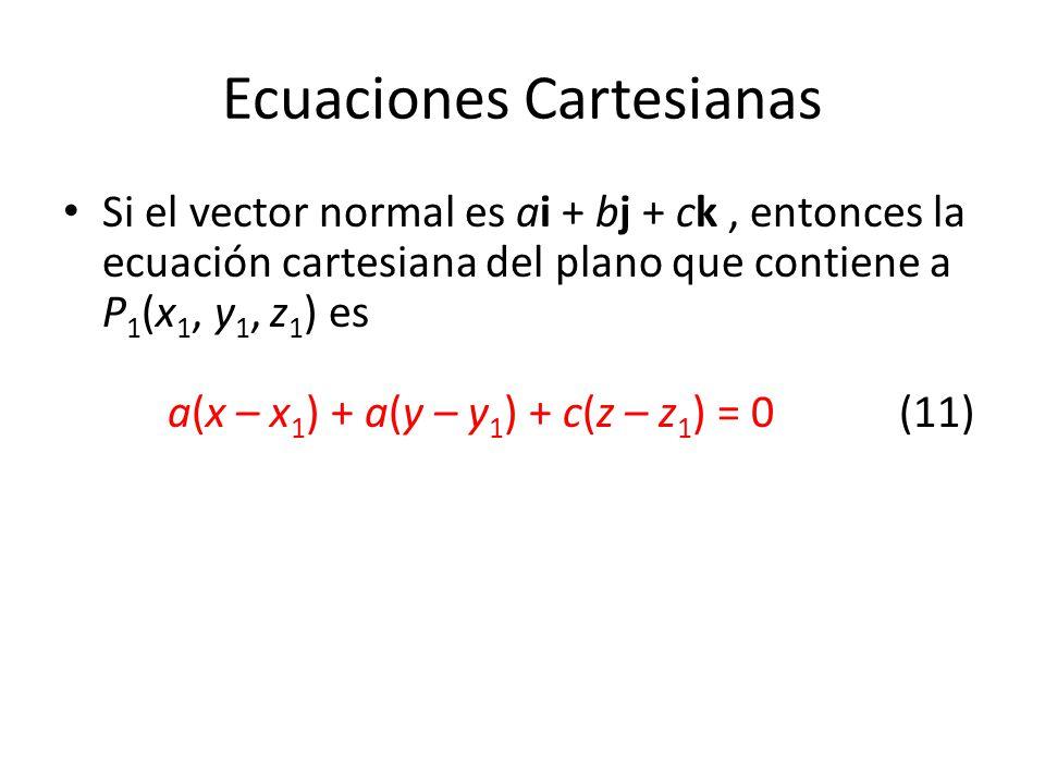 Ecuaciones Cartesianas