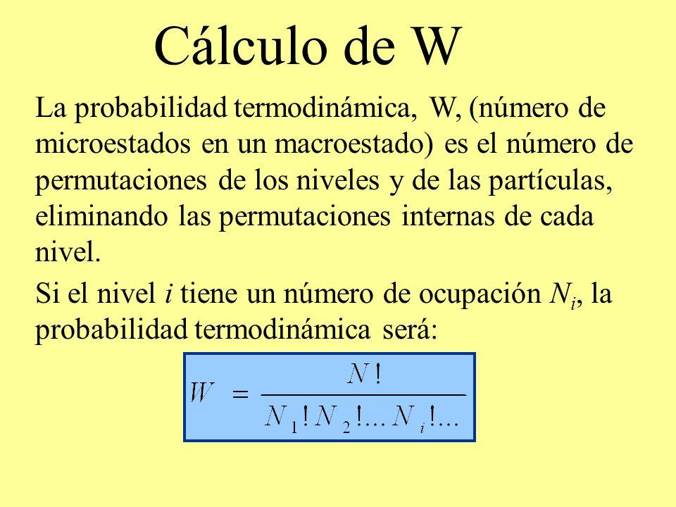 Cálculo de W