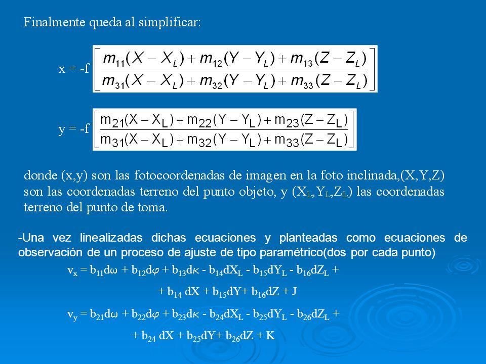 vx = b11d + b12d + b13d - b14dXL - b15dYL - b16dZL +