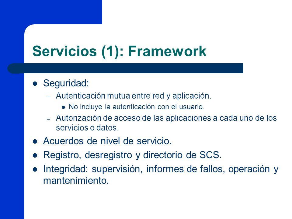 Servicios (1): Framework