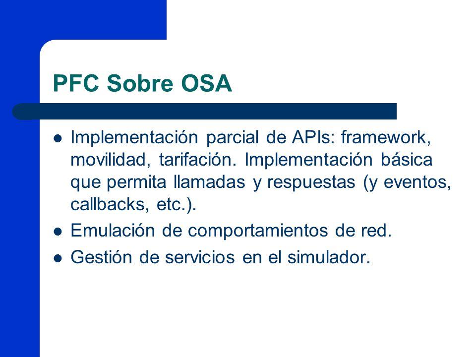 PFC Sobre OSA