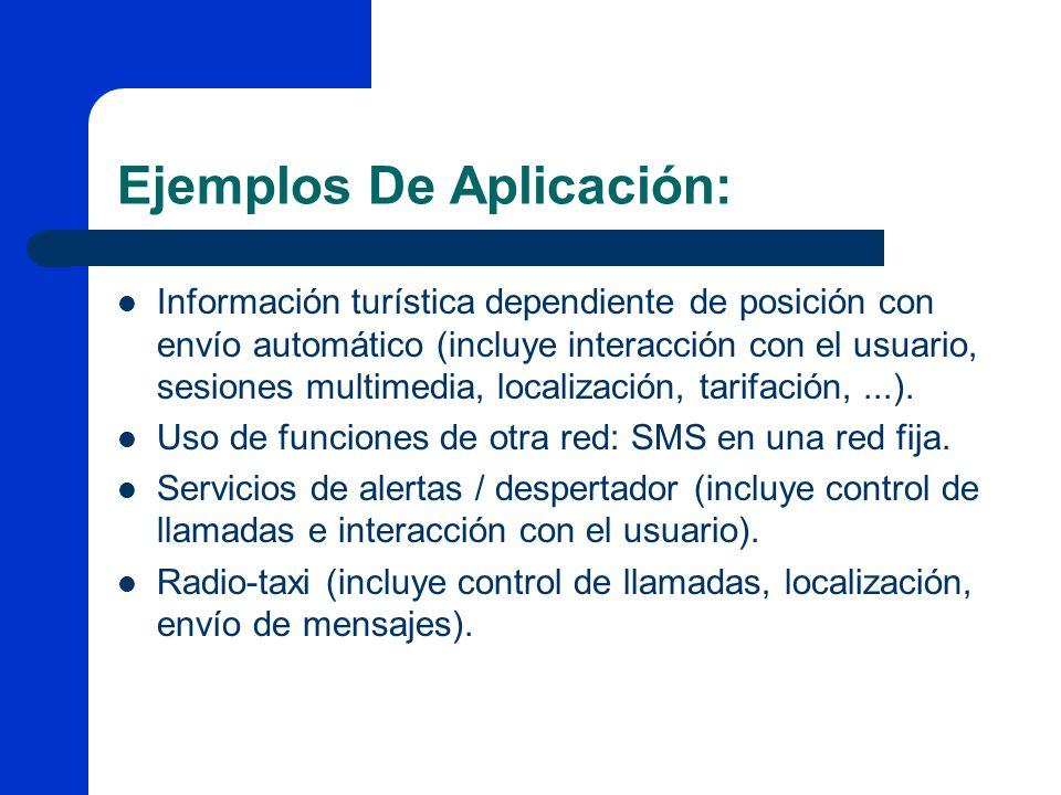 Ejemplos De Aplicación: