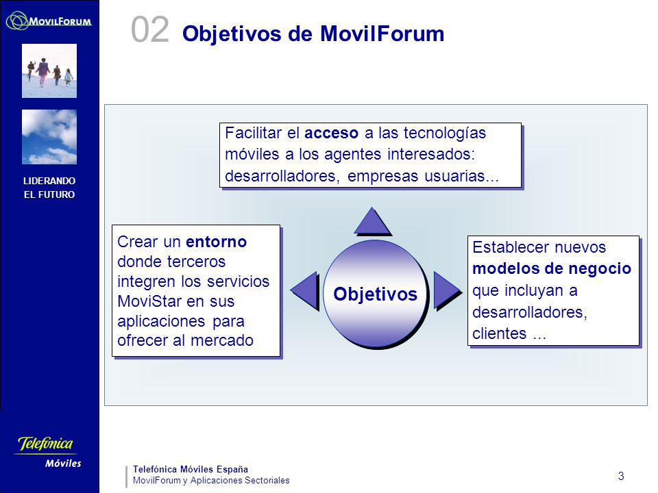 Objetivos de MovilForum
