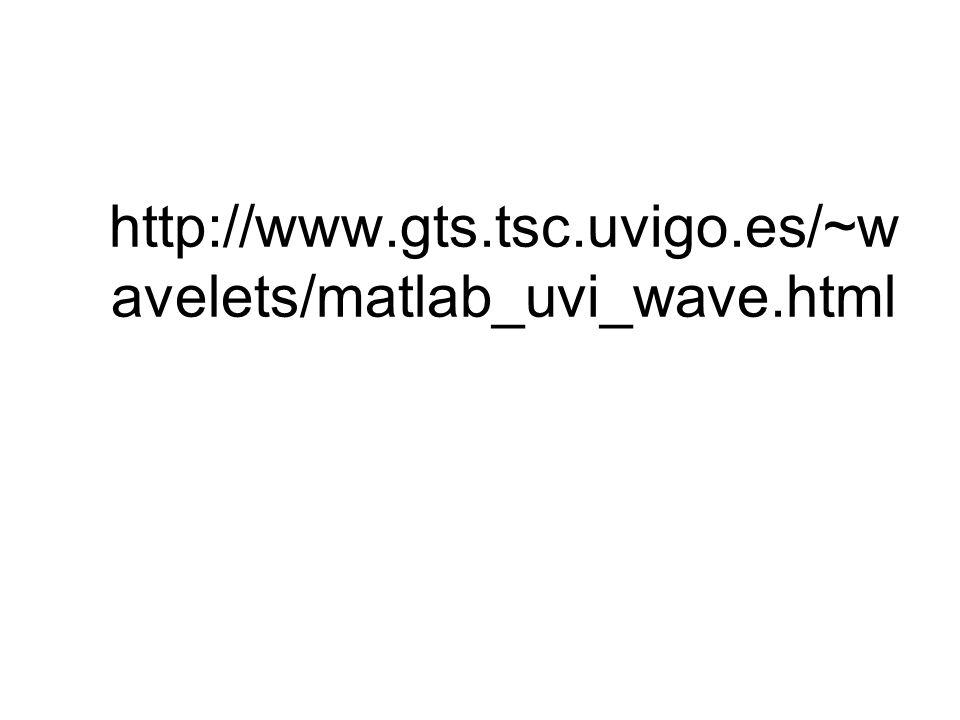 http://www.gts.tsc.uvigo.es/~wavelets/matlab_uvi_wave.html