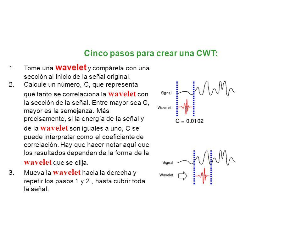 Cinco pasos para crear una CWT: