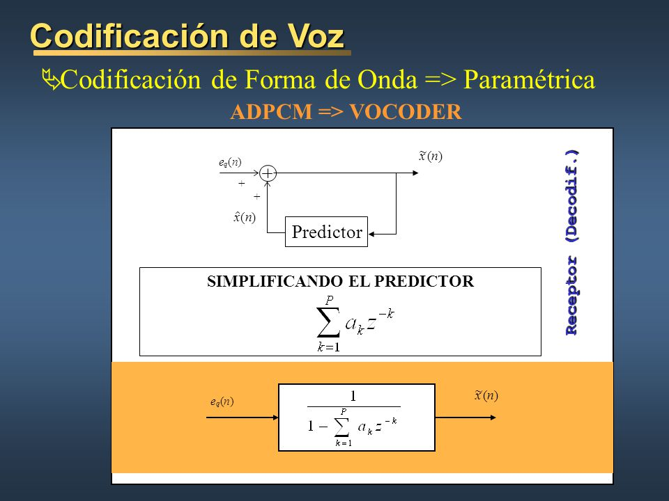 SIMPLIFICANDO EL PREDICTOR