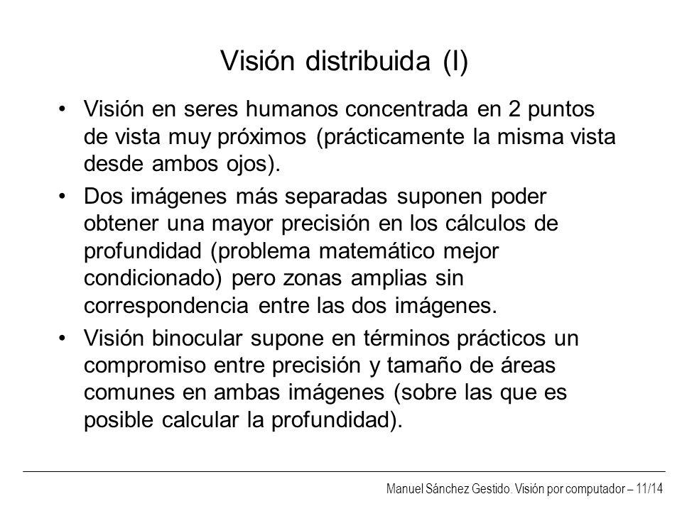 Visión distribuida (I)