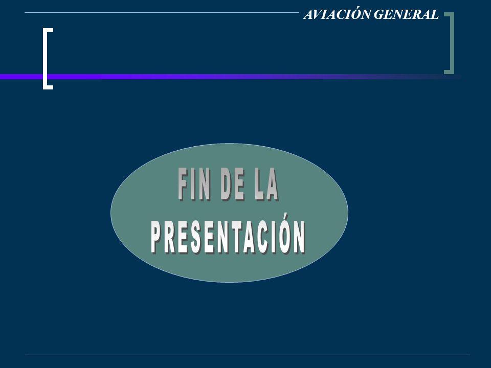 AVIACIÓN GENERAL FIN DE LA PRESENTACIÓN